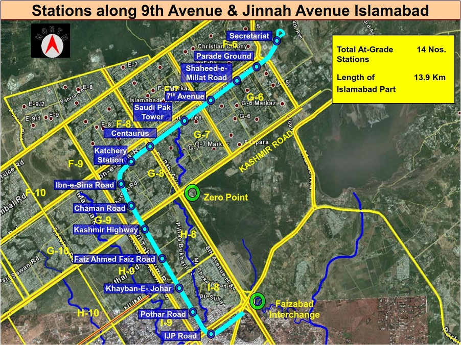 Metro Bus Rawalpindi Islamabad |Route Map, Stations & Images | b2c